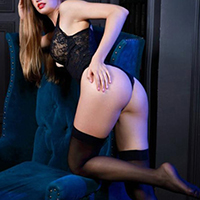 Beginner model Ute at the escort agency NRW for flirting and facial insemination
